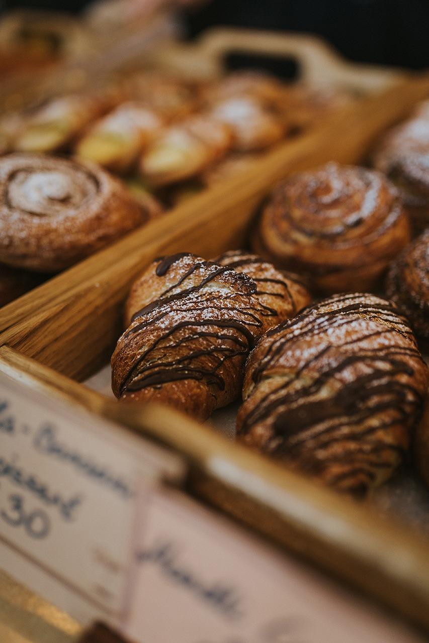 Pagariäri Banaani-Nutella Croissant